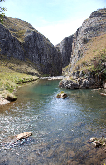 Entrance to Clarke Gorge