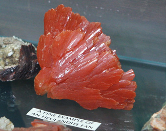 Heulandites Fan (a type of Zeolite)
