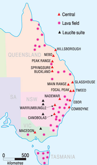 Map Of Eastern Australia Download Map Australia East Coast with ...