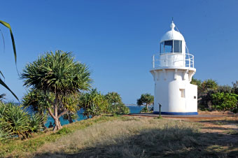 Fingal Head lighthouse, the oldest building in Tweed