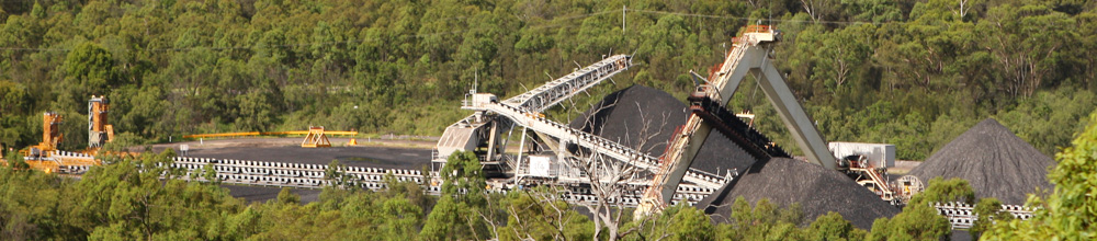 Coal & Allied's Coal Mine at Lemington in the Hunter Valley