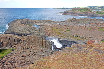 Overlooking the Bombo Quarry towards Kiama